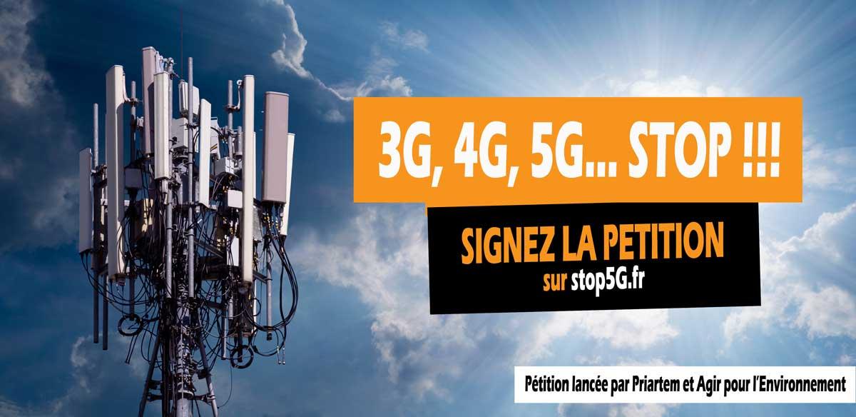 5G : Trois fois plus d'antennes relais ? Non merci !!!